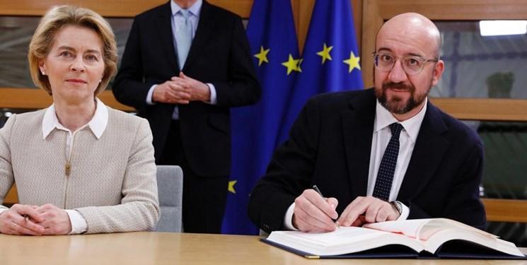 اتحادیه اروپا هم برگزیت را امضا کرد ، خداحافظی لندن و بروکسل