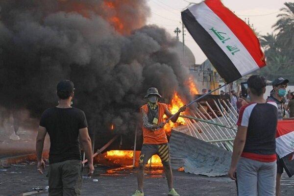 معترضان عراقی بر خواسته های خود اصرار دارند