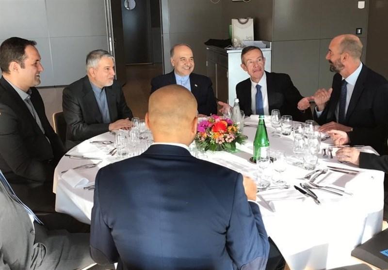 نشست مسئولین ورزش ایران با مقامات و مدیران کمیته بین المللی المپیک در لوزان سوئیس