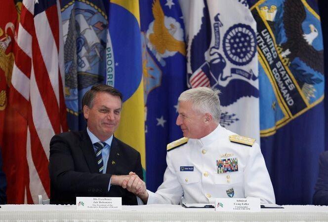 خبرنگاران چین مانعی در گسترش روابط نظامی آمریکا-برزیل