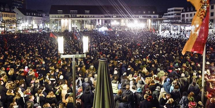 افزایش سطح امنیتی در مساجد آلمان؛ محکومیت گسترده تیراندازی در فرانکفورت