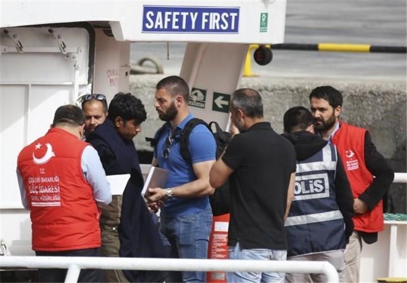 موج ورود مهاجران از ترکیه به یونان بار دیگر افزایش یافته است