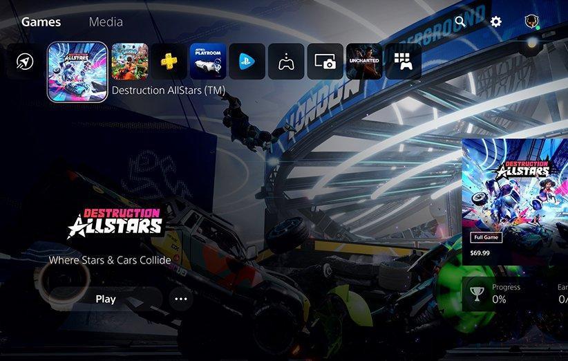 رابط کاربری PS5؛ انقلابی عظیم در تجربه کاربری