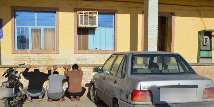 دستگیری سارقان مسلح در آبادان به وسیله عملیات ضربتی و پیچیده پلیس