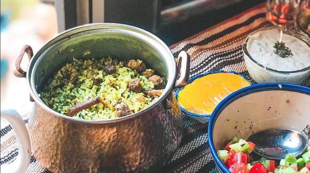 طرز تهیه کلم پلو شیرازی؛ جشنواره مزه ها