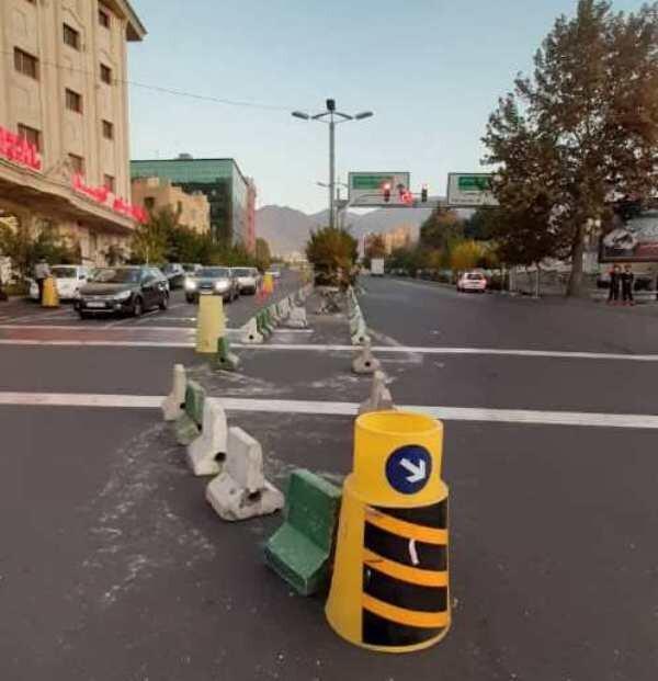 رفع گره های ترافیکی تقاطع خیابان شهید رشید یاسمی با بزرگراه سئول
