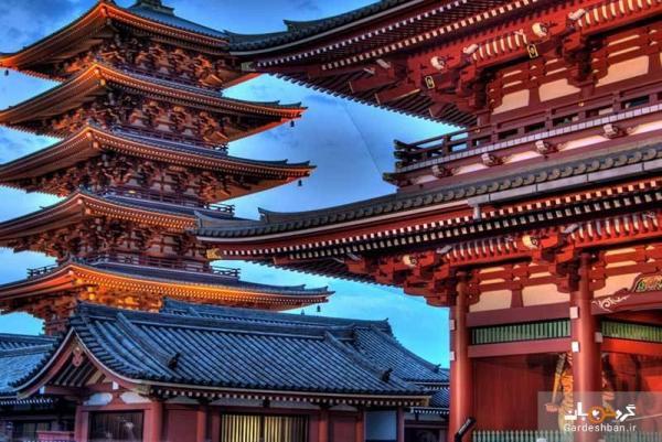 معبد سنسوجی توکیو؛ معبدی برای بخشش، عکس