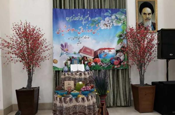 خبرنگاران جشن نوروز در سفارت ایران در تاجیکستان برگزار شد