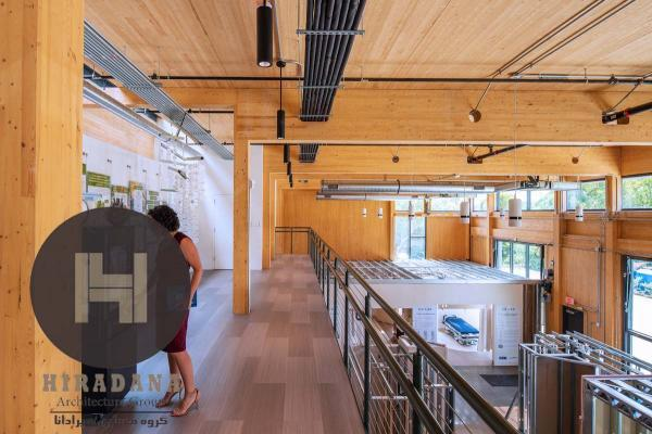 طراحی داخلی دفتر هوشمند هیت در ویرجینیا