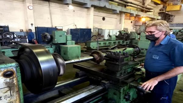 ساخت و بازسازی قطعات صنعتی، هنر متخصصان نیروگاه رامین اهواز